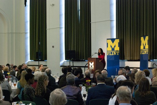 Isabel Wilkerson at 2012 UM-Flint Critical Issue Forum