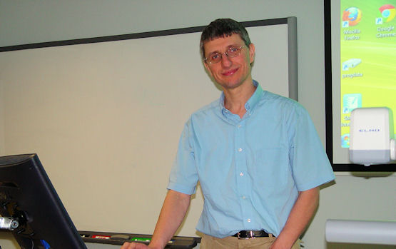 Assistant Professor of Computer Science Suleyman Uludag