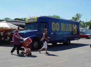 UM-Flint Shuttle at Flint Farmers' Market