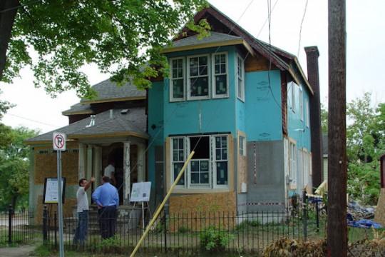 UM-Flint Urban Alternative House (UAH)