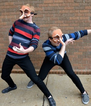 Commedia dell'Arte: masked actors playing archetypal characters