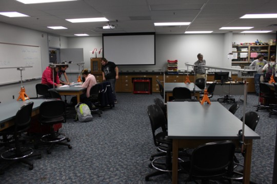 The David G. Zick Active Learning Classroom