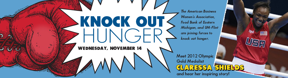 """Knock Out Hunger"" with Claressa Shields 