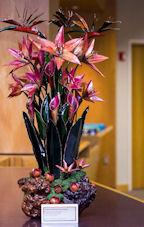 Sculpture of Stargazer Lilies