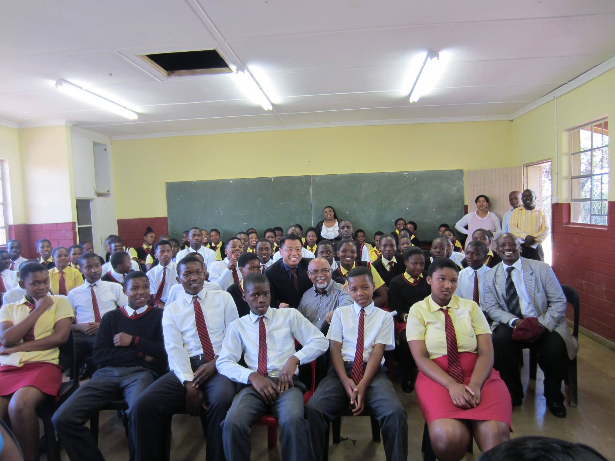 Ilanga High School Students