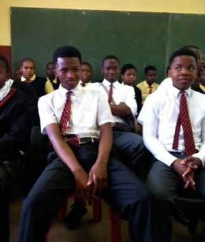Students said they hope to become philanthropists one day.