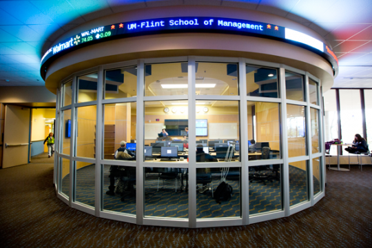 UM-Flint School of Management Finance Lab