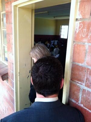 Touring the Ilanga School