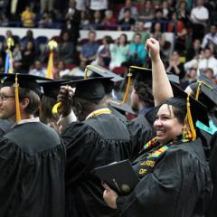 UM-Flint graduates celebrate at commencement