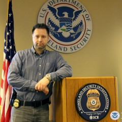 Ryan Ribner, Homeland Security Investigations