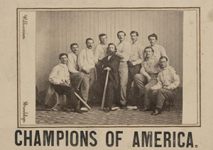 The U.S. Library of Congress has many images of early baseball.