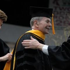 Congressman Dale Kildee Receives Honorary Degree from UM-Flint