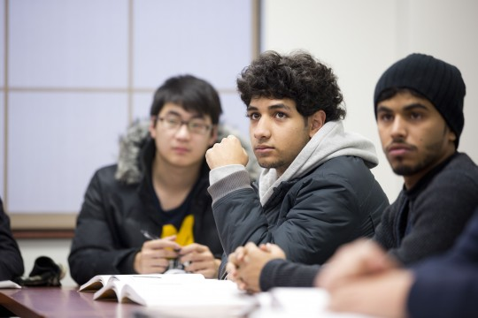 Students in UM-Flint English Language Program.