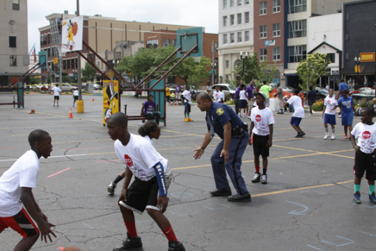 """Stop the Silence"" 3-on-3 Basketball Tournament"