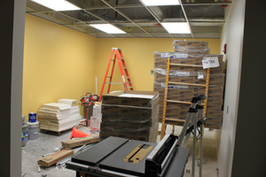 The new Clinical Simulation Center (CSC) is located on the second floor of the William S. White Building.