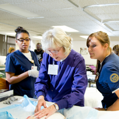 UM-Flint teaches nurses who will teach tomorrow's nurses.