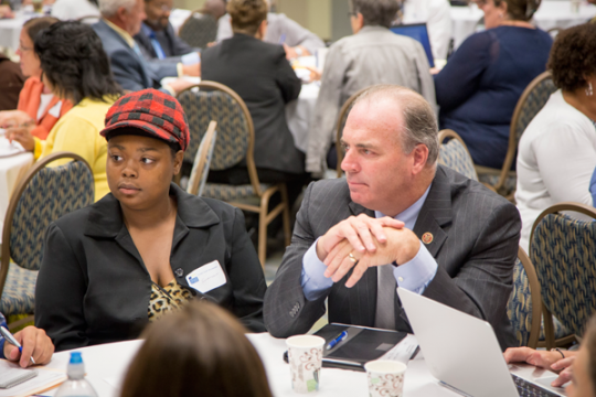 Congressman Dan Kildee at Roundtable on Foster Youth Access to Higher Education