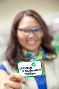 Vivian Williams now works for Girl Scouts of Southeastern Michigan in downtown Flint.