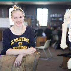 UM-Flint Pre-Med Student Meylssa Secor