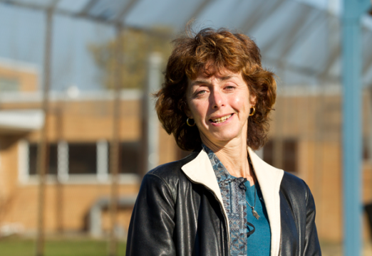 In her civic engagement courses, Criminal Justice faculty member Shelley Spivak connects students to issues through places like the Genesee Valley Regional Center.