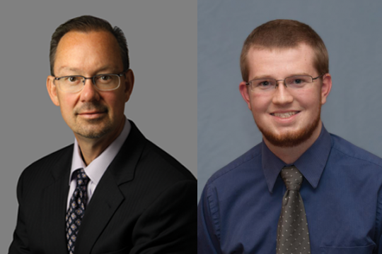 2014 December Commencement Speakers Todd Rowden and Justin Bailey