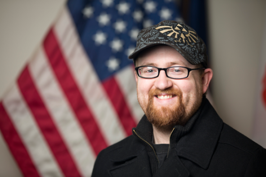 UM-Flint student veteran Mike Keeler