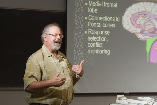 Professor of Psychology Eric Freedman