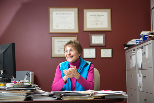 Suzanne Selig, director of UM-Flint's Department of Public Health and Health Sciences