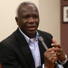Dauda Abubakar, UM-Flint assistant professor of political science and Africana studies