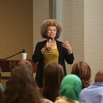 Angela Y. Davis Continues Winegarden Tradition at UM-Flint
