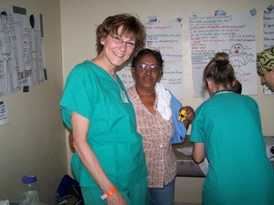 Becky Pettengill has volunteered on nursing trips to the Dominican Republic for 17 years.