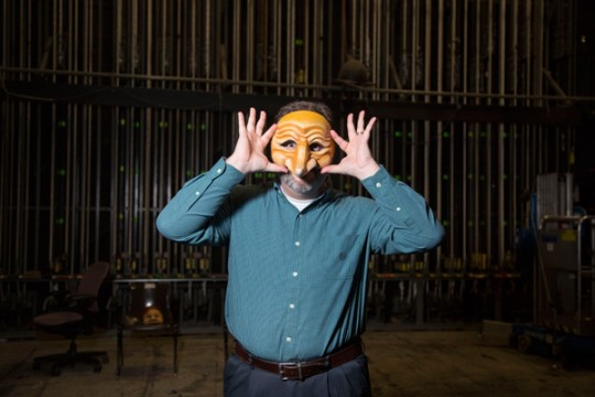 William Irwin, University of Michigan-Flint associate professor of theatre and chair of the Theatre and Dance department.