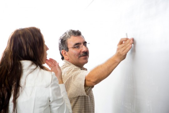 UM-Flint Mathematics Professor Ricardo Alfaro