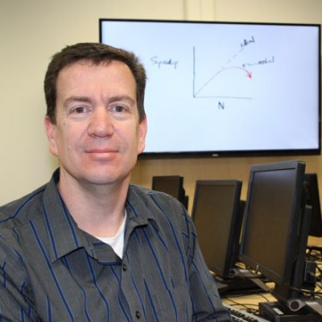 UM-Flint Associate Professor of Computer Science Stephen Turner
