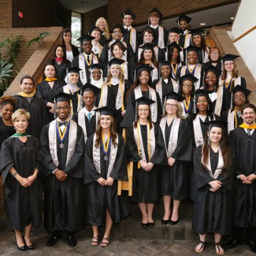 2015 Genesee Early College graduating class