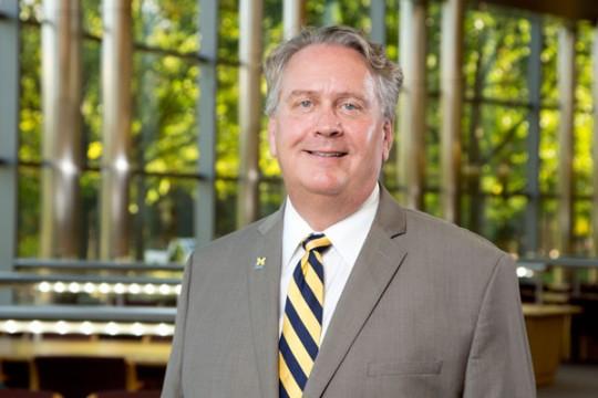Dean of UM-Flint School of Management Scott Johnson, Ph.D.