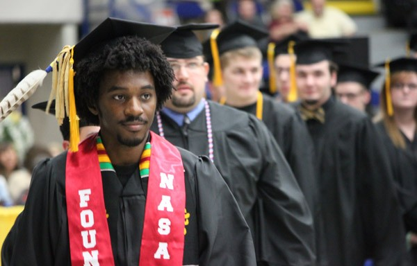 Recent UM-Flint graduate Kyle Manley is attending NCORE for the third time.