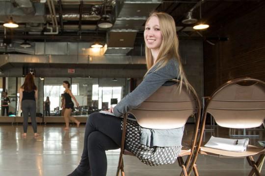 Lecturer & dance instructor Emma Davis is pursuing her Master of Arts in Liberal Studies degree at UM-Flint.