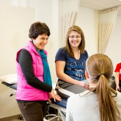 Amy Yorke, assistant professor of physical therapy, is one of four Boyer Faculty Scholars for the 2015/2016 year.