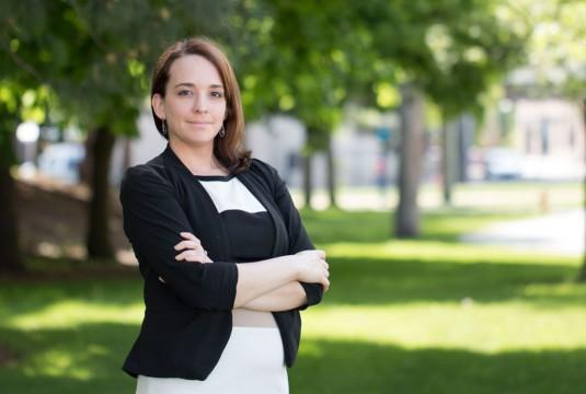 UM-Flint student entreprenuer Ashley Knific