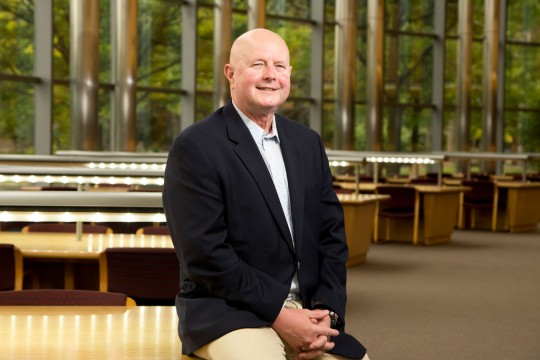 Albert Price, interim dean of the college of arts and sciences.