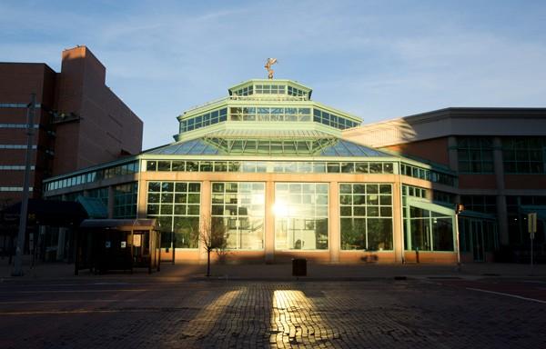 UM-Flint's University Pavilion (UPAV).