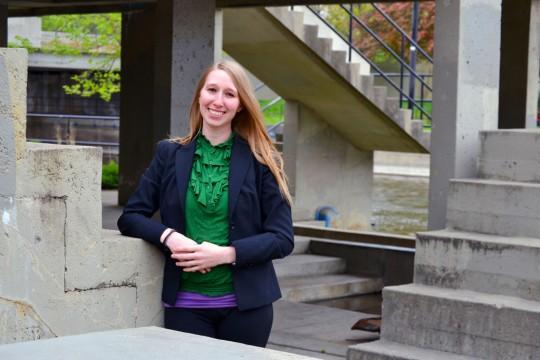 UM-Flint graduate student and lecturer Emma Davis
