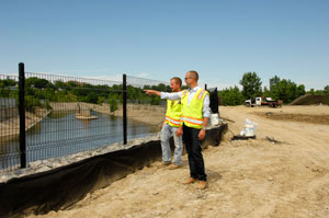 Ryan Londrigan is the project manager of the Chevy Commons brownfield remediation initiative.