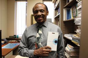 "Charles Thomas donated copies of ""1984."""