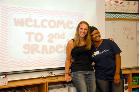 Teacher candidate and teacher mentor at Siple Elementary