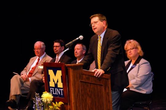 UM-Flint Provost and Vice Chancellor for Academic Affairs Dr. Douglas G. Knerr