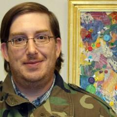 U.S. Army veteran and UM-Flint student Matt Lane