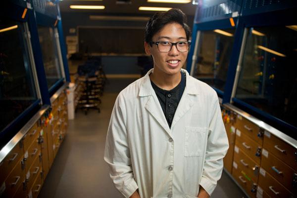 Noah Knutson, biochemistry major