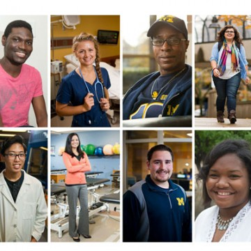 Here & Now: A Year in the Life of 8 UM-Flint Students